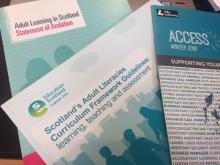 Scottish adult learning policy documents